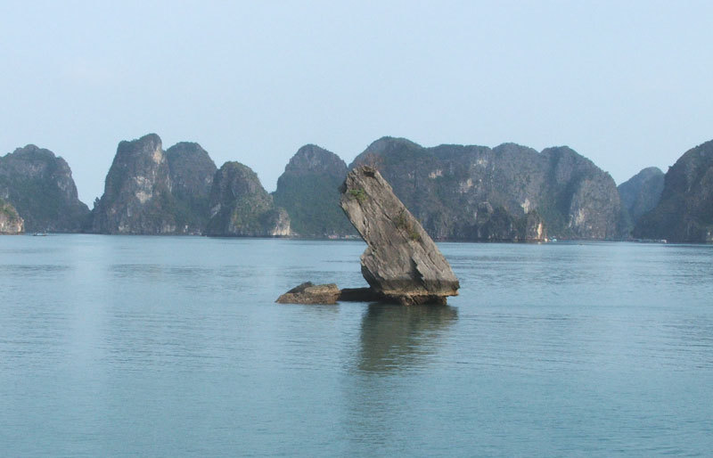 Halong bay by Charted Boat and scenic view from Helicopter