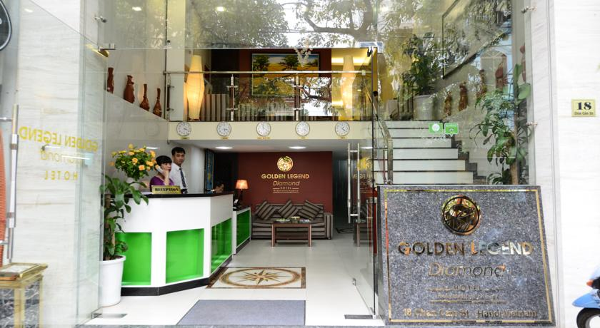 Golden Legend Diamond Hotel Hanoi